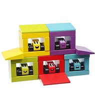 Cubika 14859 Veselé závody - Dřevěná hračka