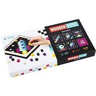 Cubika 14873 Pixel I vesmír - Dřevěná hračka