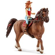 Schleich Redhead Hannah and Horse Cayenne - Game Set