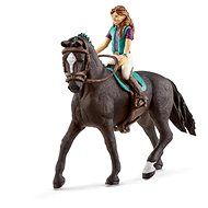 Schleich Brunette Lisa and Horse Storm - Game Set