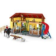Schleich 42485 Stáj pro koně s příslušenstvím - Doplňky k figurkám