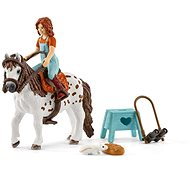 Schleich 42518 Horse Club Mia a Spotty - Herní set