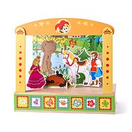 Woody Puppet Theater - Wooden Toy