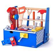 Woody Kutilský ponk / box s cirkulárkou - Dřevěná hračka