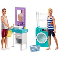 Barbie Ken, with Furniture - Doll Accessory