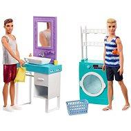 Barbie Ken s nábytkem - Panenka