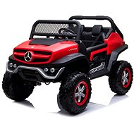 Mercedes Unimog červený - Dětské elektrické auto