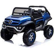Mercedes Unimog modrý lakovaný - Dětské elektrické auto