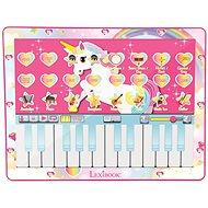 Lexibook Hudební klávesový tablet - jednorožec - Hudební hračka