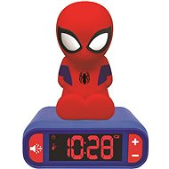 Lexibook Spider-Man Night Light Radio Alarm Clock - Budík