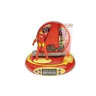 Lexibook Avengers Iron Man Clock with projector and sounds - Alarm Clock