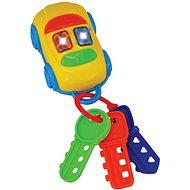 Klíčky autíčko - Didaktická hračka