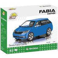 Cobi Škoda Fabia Combi model 2019 1:35 - Stavebnice