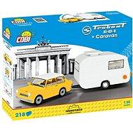 Cobi Trabant 601 s karavanem - Stavebnice