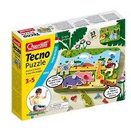 Quercetti Tecno Puzzle - Stavebnice