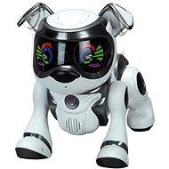 Teksta robotické štěně ovládané hlasem – černé - Interaktivní hračka