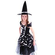Rappa Čarodějnice netopýrka, vel. S - Dětský kostým