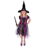 Rappa Čarodějnice barevná, vel. S - Dětský kostým
