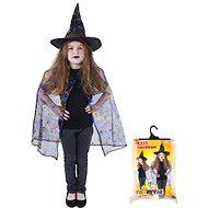 Rappa Čarodějnice - plášť + klobouk - Dětský kostým
