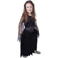 Rappa Čarodějnice černá, vel. S - Dětský kostým