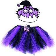 Kostým Čarodějnice - sukně + maska - Dětský kostým