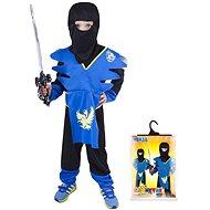 Rappa Ninja modro-žlutý, vel. S - Dětský kostým