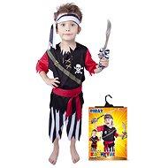 Rappa Pirát s šátkem vel. S - Dětský kostým