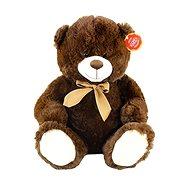 Rappa Medvěd sedící tmavý - Plyšový medvěd