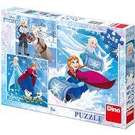 Dino Frozen: Zimní Radovánky - Puzzle