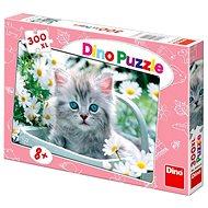 Dino Šedivé Koťátko - Puzzle