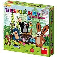 Dino Veselé Hry s Krtkem  - Společenská hra