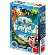 Dino Šmoulové 3: Kouzelný Les Neon - Puzzle