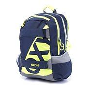 Karton P+P Oxy Neon Dark Blue - Dětský batoh