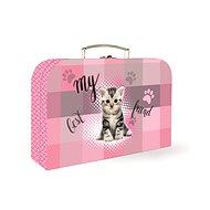 Karton P+P Lamino Junior kočka - Dětský kufr