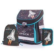 Karton P+P Premium ROCKET (batoh+penál+sáček) - Školní set