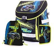 Karton P+P Premium TRUCK (batoh+penál+sáček) - Školní set