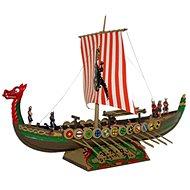 Směr Model Kit 0902 loď – Vikingská loď DRAKKAR - Plastový model