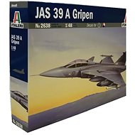 Italeri Model Kit I2638 Aeroplane - JAS 39A Gripen - Model Airplane
