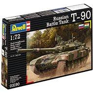 Revell Model Kit 03190 tank – Russian Battle Tank T-90 - Plastový model