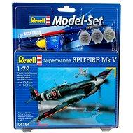 Revell Model Set 64164 letadlo – Spitfire Mk.V - Plastový model