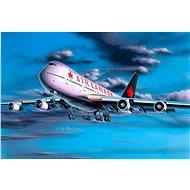Revell Model Set 64210 letadlo – Boeing 747-200 - Plastový model
