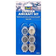 Revell Sada barev 39072 – Civillian Aircraft Set - Sada