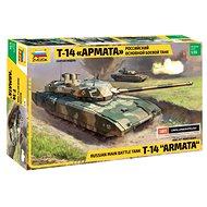 """Zvezda Model Kit Z3670 tank – Russian Modern Tank T-14 """"Armata"""" - Plastový model"""