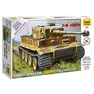 Snap Kit tank 5002 - Tiger I - Plastikový model