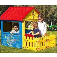 DOLU Dětský zahradní domeček s plotem - Dětský domeček