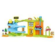 DOLU Dětský garážový set - Plastový model