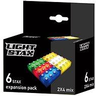 Light Stax Pack Mix 6 ks - Stavebnice