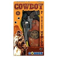 Kovbojská sada Revolver + šerifská hvězda - Dětská zbraň