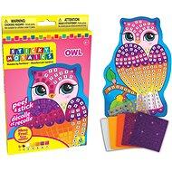 Mozaika Sova - Vyrábění pro děti