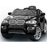 BMW X6 Luxury lakované černé - Dětské elektrické auto